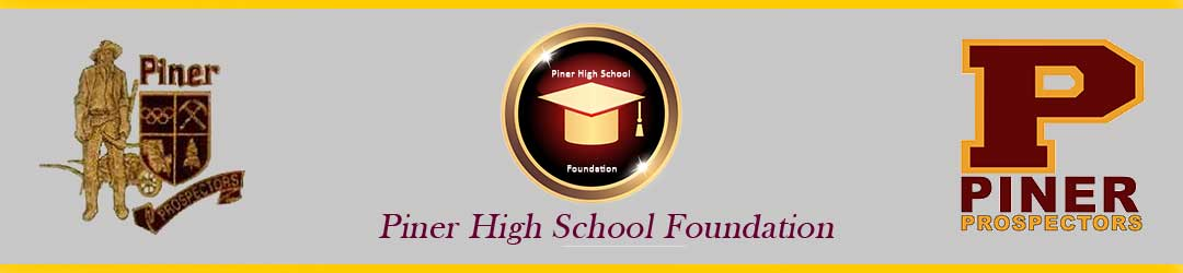 Piner High School Foundation header image